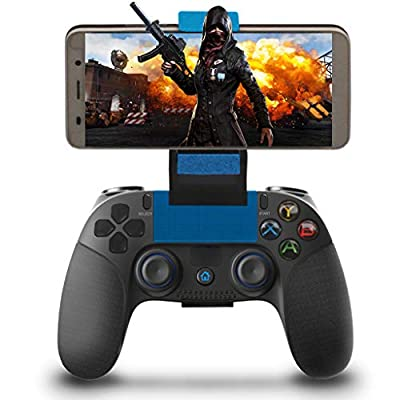 Wireless Controller for iOS Android, Maegoo Wireless Bluetooth Mobile Game Controller Gamepad Joystick with Compatible for iOS(11.3-13.3 Version) iPhone iPad Android Phone/Tablet