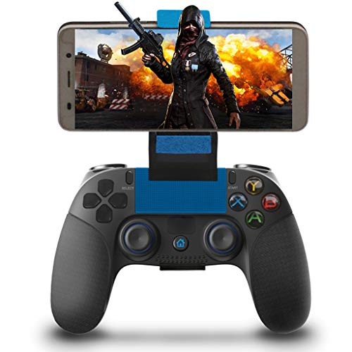 Controller für Android Wireless, Maegoo Bluetooth Kabellos Mobile Game Controller Gamepad Joystick mit Einziehbarer Halterung für Android Handy Phone Tablet