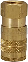 Dixon Valve & Coupling DC2023 Brass Air Chief Industrial Interchange Quick-Connect Air Hose Socket, 1/4