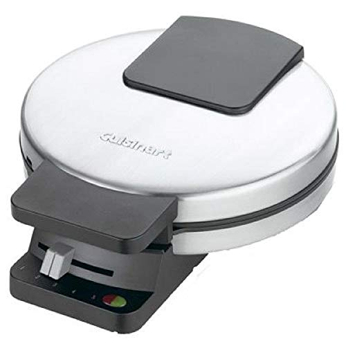 Cuisinart Round Classic Waffle Maker, Silver, 1