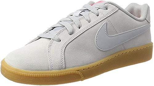 Nike Herren Court Royale Suede Sneaker, Grau (Wolf Grey/wolf Grey-solar Red-gum Light Brown), 45 EU
