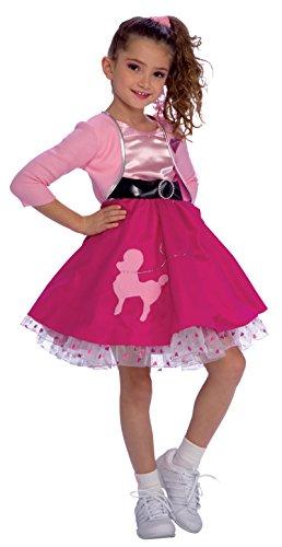 Rubie's Fifties Girl Child's Costume, Toddler