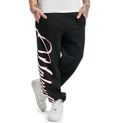 Yakuza Pantalones de chándal para hombre. Negro XXXL