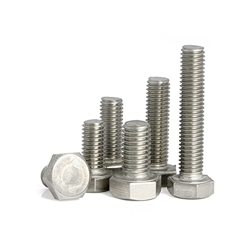 50PCS 25% OFF 304 Bombing free shipping Stainless Steel 1 2-13 4≈31.75mm Bolts 1-1 Hex UNC
