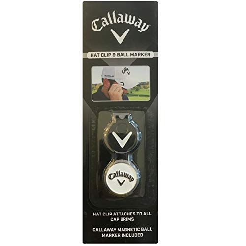 Callaway Golf On Course Accessories (Hat Clip & Ball Marker)