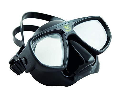 HTD Poseidon Technica - Máscara de buceo con doble ventana