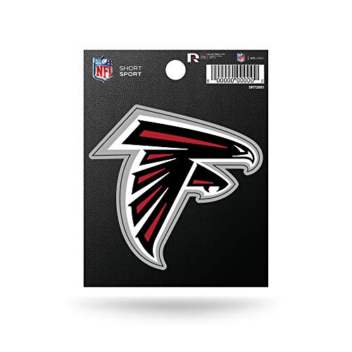 NFL Rico Industries Die Cut Team Logo Short Sport Sticker, Atlanta Falcons