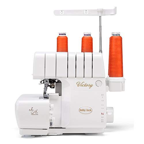 BABY LOCK Victory Overlockmaschine mit Jet-Air™-Threading-System | unkompliziert und komfortabel in der Bedienung