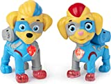 PAW Patrol Mighty Pups Super Paws, Mighty Twins Light Up Figures 2-Pack, for Kids Aged 3 and Up