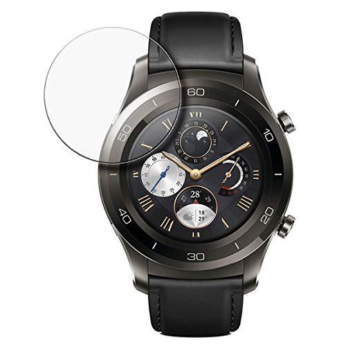 disGuard Schutzfolie für Huawei Watch 2 Classic [4 Stück] Entspiegelnde Displayschutzfolie, MATT, Glasfolie, Panzerglas-Folie, Displayschutz, Hoher Härtegrad, Glasschutz, Anti-Reflex