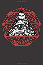 Illuminati Occult Symbol: Blank Lined Notebook, Journal or Diary