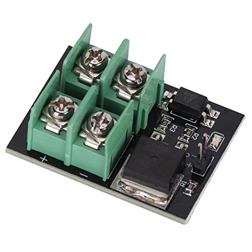Deror Módulo de conmutación, módulo de conmutación de bajo Voltaje 3V 5V Control bajo de Alto Voltaje 12V 24V 36V Módulo de Transistor de Efecto de Campo