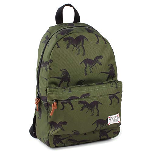 Skooter Animal Kingdom Dino kinderrugzak, 10 l, groen