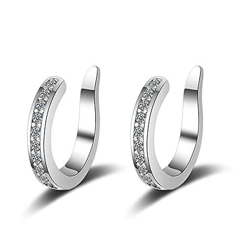Pandora 925 colgante de plata esterlina DIY Pendientes de apertura simples Pendientes auténticos para hacer joyería de moda C