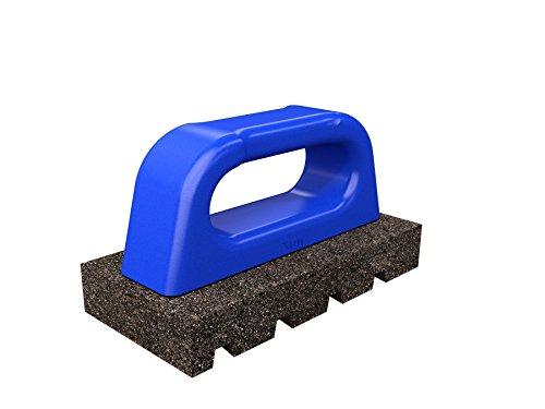 "Bon Tool 12-177 Rub Brick - Fluted 6"" X 3"" X 1"" - 20 Grit - Plastic Handle"