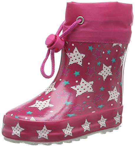Beck Jungen Mädchen Sternenzauber Gummistiefel, Pink (Pink 06), 19 EU