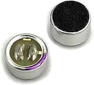 2pcs WM-61A کپسول کارتریج میکروفون خازنی Omnidirectional Back Electret.