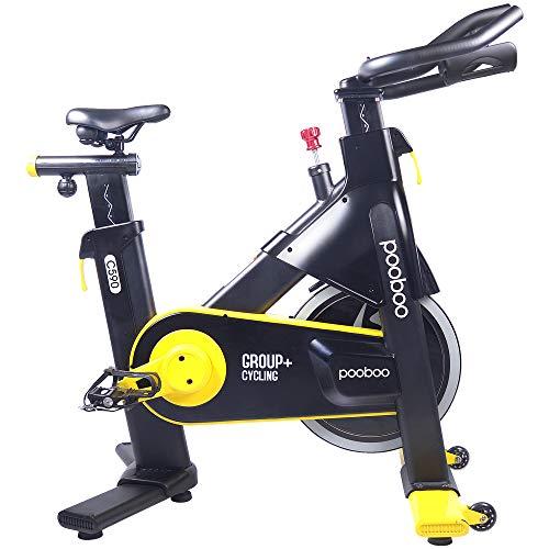 pooboo Indoor Cycling Bike, Belt Drive Indoor Exercise Bike,Stationary Bike for Home Cardio Workout Bike Training