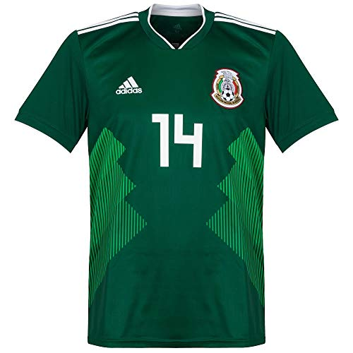 Mexiko Home Trikot 2018 2019 + Chicharito 14 - M