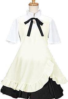L0085LBL コスプレ衣装 WORKING!!ウェイトレス 種島ぽぷら メイド服 Mサイズ