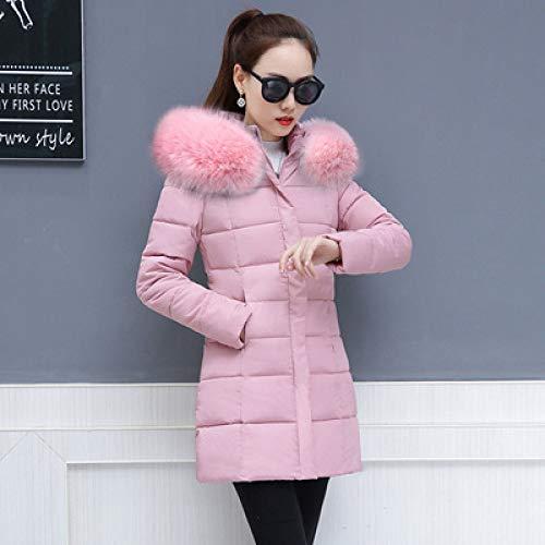 WFSDKN dames parka winterjas vrouwen los nieuwe aankomst plus maat met hoed warm verdikken warme mantel fabriek