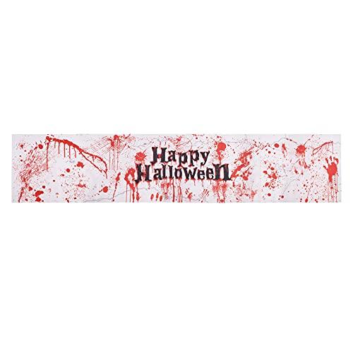 TSLBW 1 Pcs Halloween Nappe Sanglante Fête dhalloween Nappes