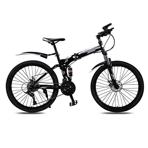 Great Deal! OFFA 26 Inches Foldable Mountain Bike, Lightweight Road Bicycle,with Hard Steel Frame, 2...
