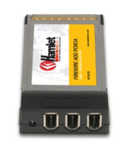 Hamlet HFWCB 3 Port Firewire A PCMCIA Schnittstellenkarte/Adapter - Schnittstellenkarten/Adapter (CardBus, 400 Mbit/s, Windows 98SE/2000/ME/XP/Vista, 3 x IEEE 1394a)