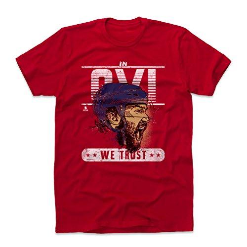 500 LEVEL Alex Ovechkin Shirt (Cotton, Large, Red) - Washington Men's Apparel - Alex Ovechkin Trust W WHT