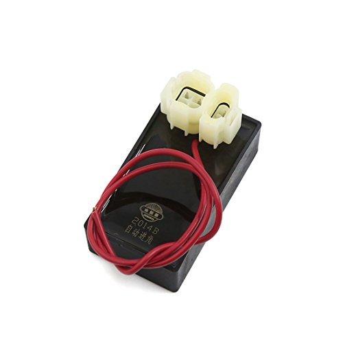 DealMux Motocicleta Vespa CDI eléctrico del Encendedor de Chispa de Encendido DC Negro para GY6-125