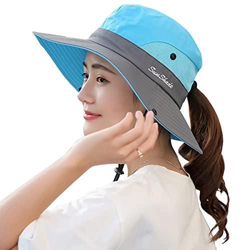 Muryobao Womens Wide Brim Sun Hat