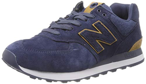New Balance Herren 574v2 Sneaker, Blau (Navy Navy), 44 EU