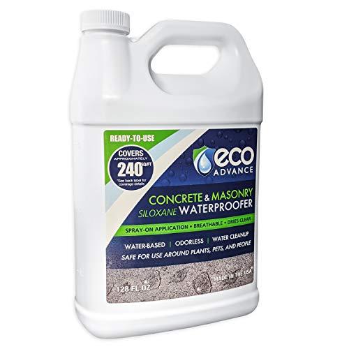 Eco Advance EACON128PD 1 Gallon Concrete/Masonry Siloxane Waterproofer-Ready to Use