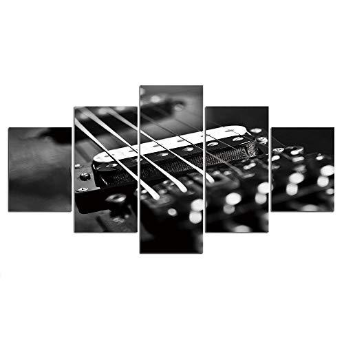 Mincoco snaren voor akoestische gitaar, linnen, muurkunst, fotolijst, decoratie, 5 stuks 30X40 30X60 30X80cm Geen frame