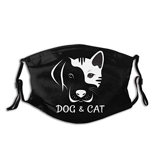 liangchunmei Personalisierter Mundschutz für Katzen und Hunde mit wiederverwendbarem Mundschutz gegen Staub