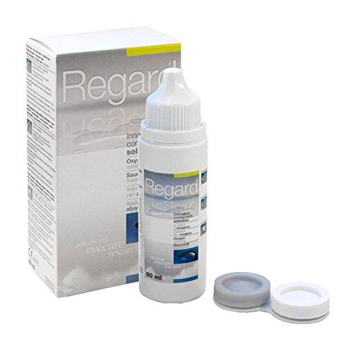 Regard Kombi, 60 ml Reiseflasche und Lens Case, 4er Pack (4 x 0.086 l)