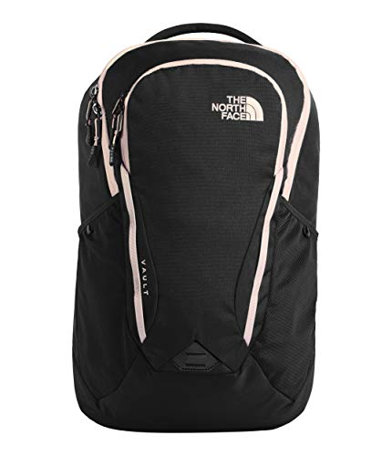 The North Face Women's Vault Backpack, TNF Black/Pink Salt, One Size