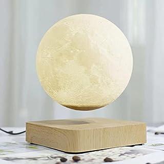 Creative 3D Magnetic Levitation Moon Lamp Night Light Rotating Led Floating Home Decoration Holiday