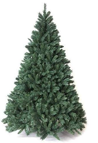 Megashopitalia Albero di Natale Pino 150 180 210 240 270 CM Super FOLTO Realistico Verde Natale (180CM)