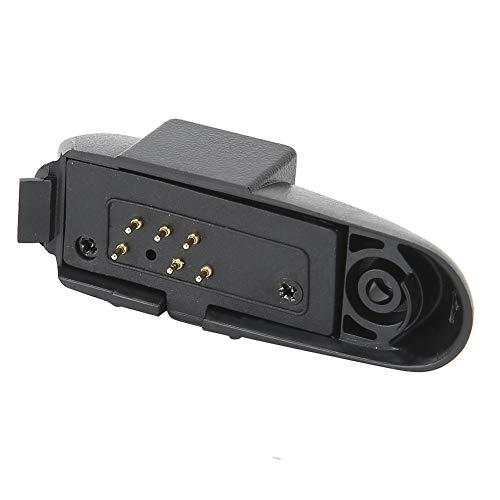 Adaptador de Audio para Walkie Talkie, Adaptador de Audio para Baofeng, 2 Clavijas con Puerto M BF ‑ A58 BF ‑ UV9R UV, Adaptador de Audio para Auriculares, Negro