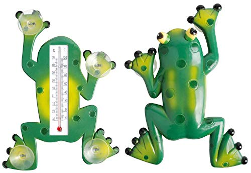 esschert Design th49, thermomètre Grenouille, Plastique, 24 x 18 x 4 cm