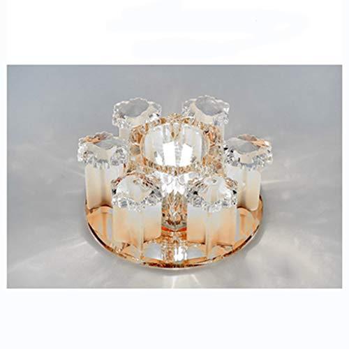 WWW Kristal zilver chroom kroonluchter plafondlamp kroonluchter LED Hall Moderne kristal wandlamp plafondlamp