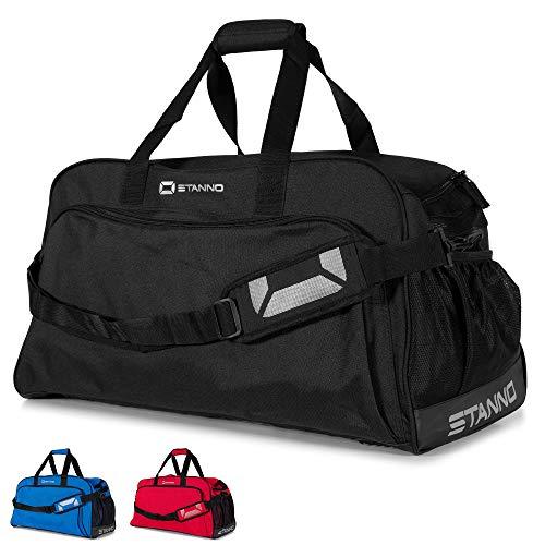 Stanno Sporttasche mit Handyfach und viel Volumen   Trainingstasche für Erwachsene und Kinder- Perfekt geeignet als Fussballtasche und Fitnesstasche