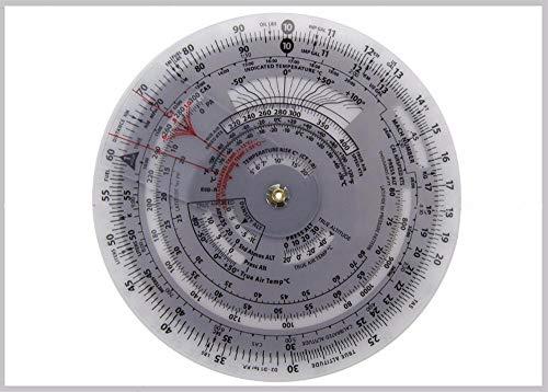 E6B Aviation Round Shape Circular Flight Computer E6B Flight Computer Calculator E6B Ruler