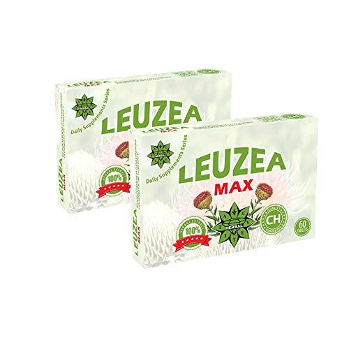 Leuzea carthamoides, Ecdysterone, Maral raíz 200mg Extracto de hierbas naturales, Resistencia y...