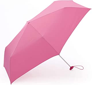 Household Umbrellas Business Casual Umbrella for Men and Women Rain and Rain Folding Umbrellas Available in Four Colors HYBKY (Color : Pink)
