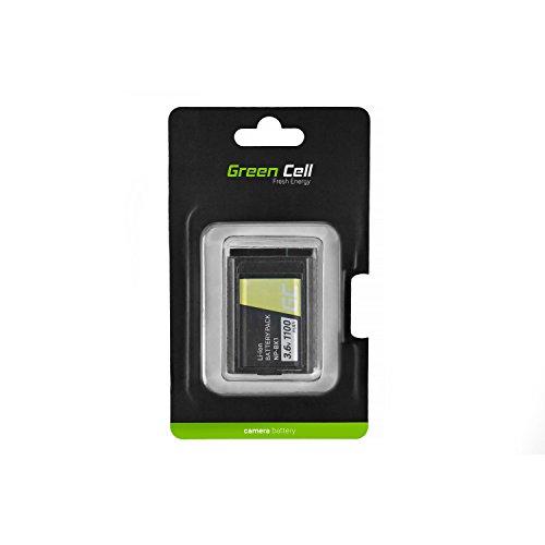 Green Cell® Kamera-Akku für Sony HDR-AS100VW, Full Decoded (Li-Ion Zellen 1100mAh 3.6V Schwarz)