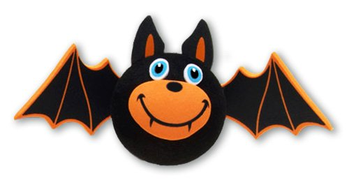 Tenna Tops Spooky Bat Car Antenna Topper / Antenna Ball / Mirror Dangler / Desktop Spring Stand