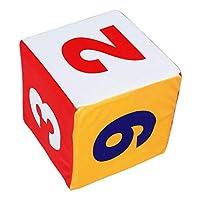 #N/A 柔らかく多彩なジャンボフォームの大きいダイスのカーニバルの早い教育の好意のおもちゃ - 数