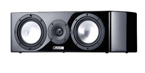 Canton 03014 Vento 856.2 Centerlautsprecher hochglänzendes schwarz